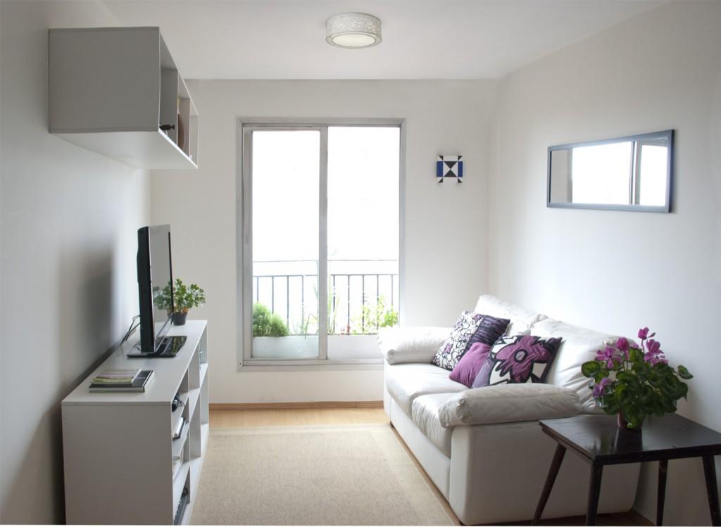 Espa os reduzidos veja dicas para decora o de salas for Salas de estar modernas y pequenas